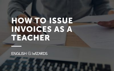 How to Issue Invoices as a Teacher